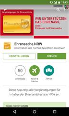 Externer Link: Ehrenamt App