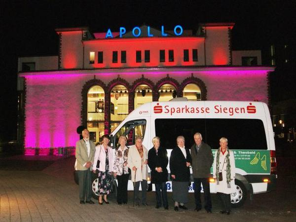 Shuttlebus ins Apollo-Theater