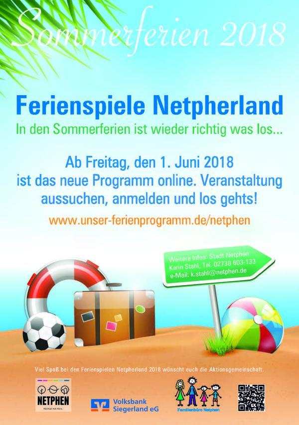 Ferienspiele Netpherland 2018