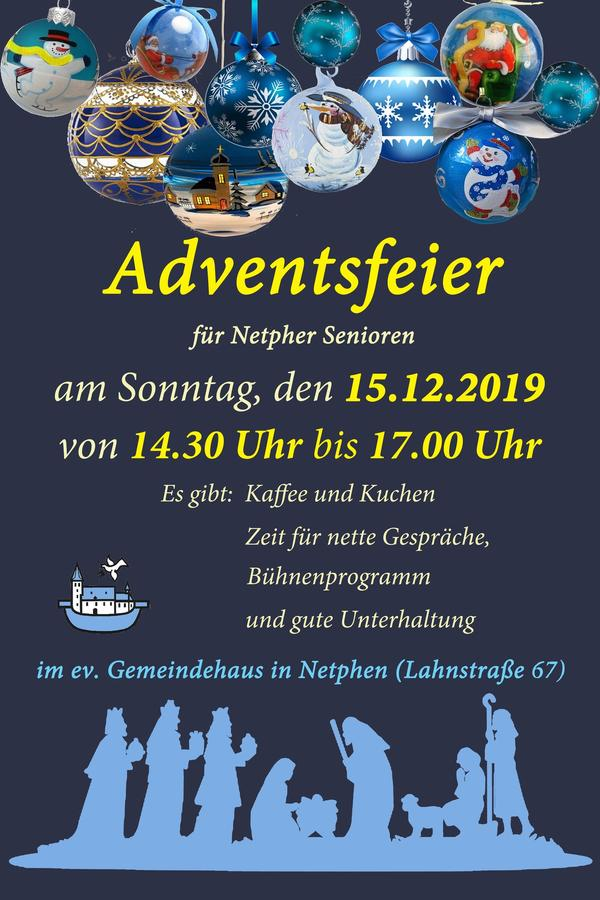 Adventsfeier 2019